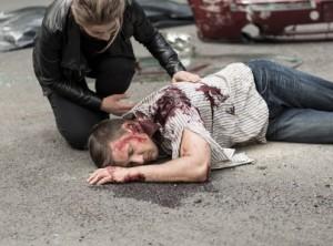 Dead man after car crash