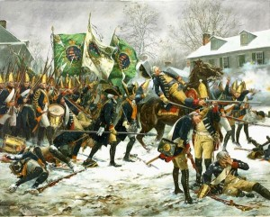 Battle of Trenton - December 26, 1776 (used with permission by Don Troiani)