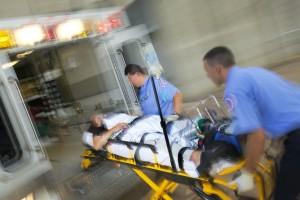 EMS ambulance patient