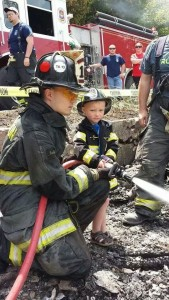 Fire service and families