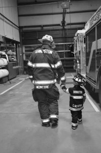 Firefighters_Father and Son