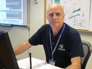 AMU Emergency & Disaster Management student George Navarini