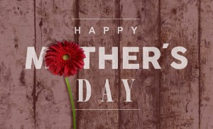 Happy Mothers day vintage background