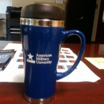 """This """"tactical coffee cup"""" has taken a lot of abuse helping to train police officers."""