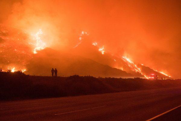 Thomas Fire Hillside