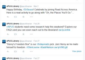 APUS-library-tweets