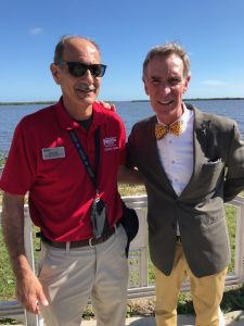 Charlie Venuto and Bill Nye