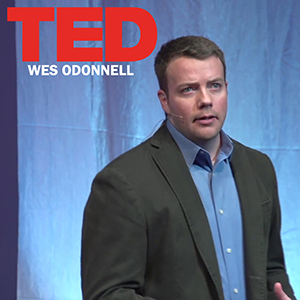 Wes O'Donnell at TEDx Muskegon