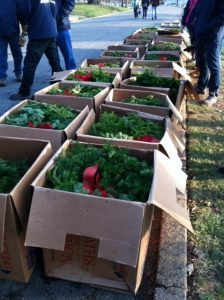 American Military University's wreath boxes at Arlington National Cemetery - 12/13/14