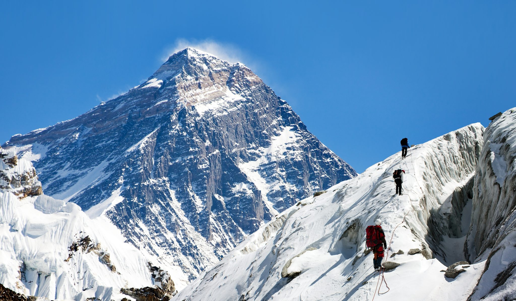 It's Climbing Season On Mt. Everest As Cyclone Fani Approaches