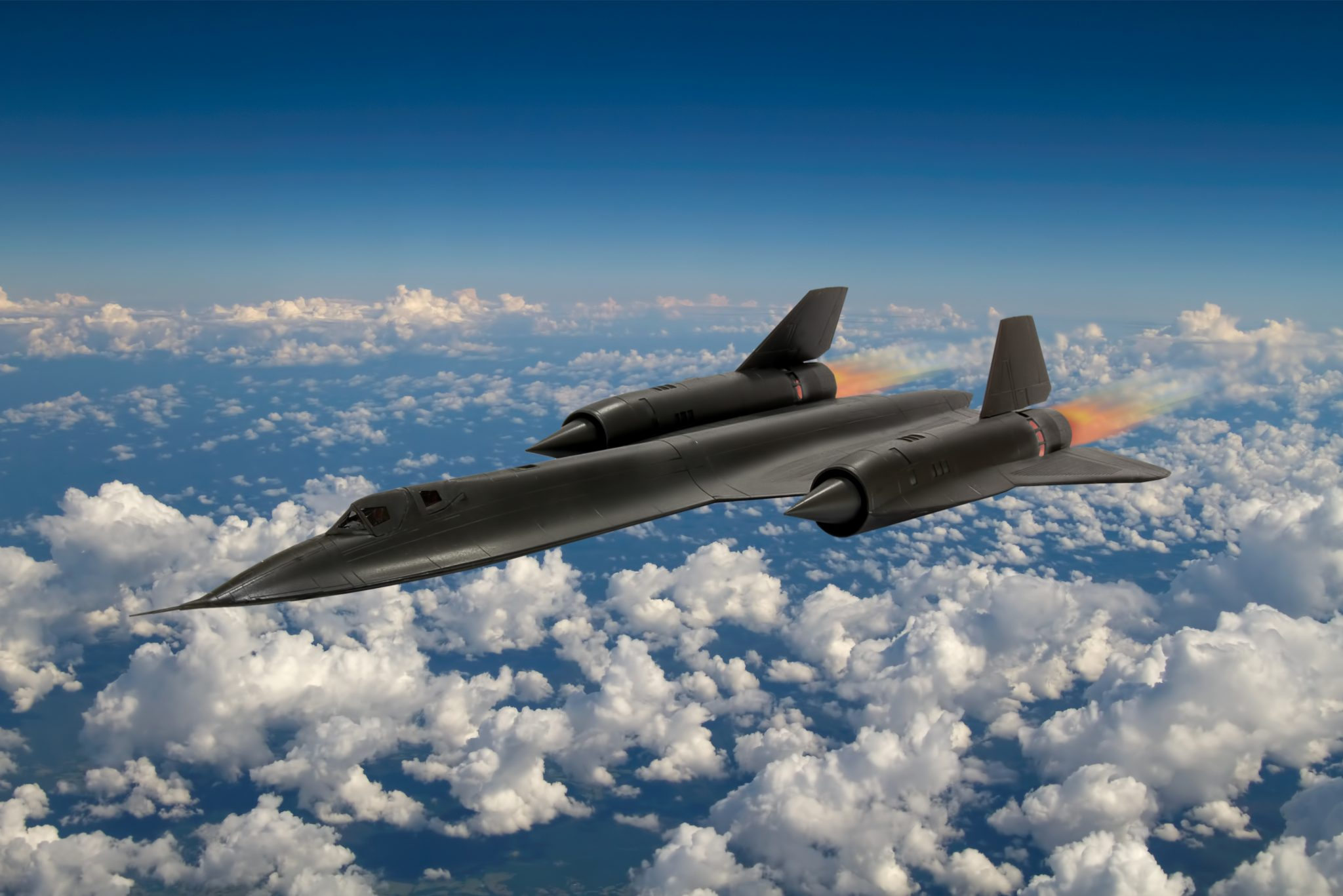 How the SR-71 Blackbird Made US Intelligence Superior