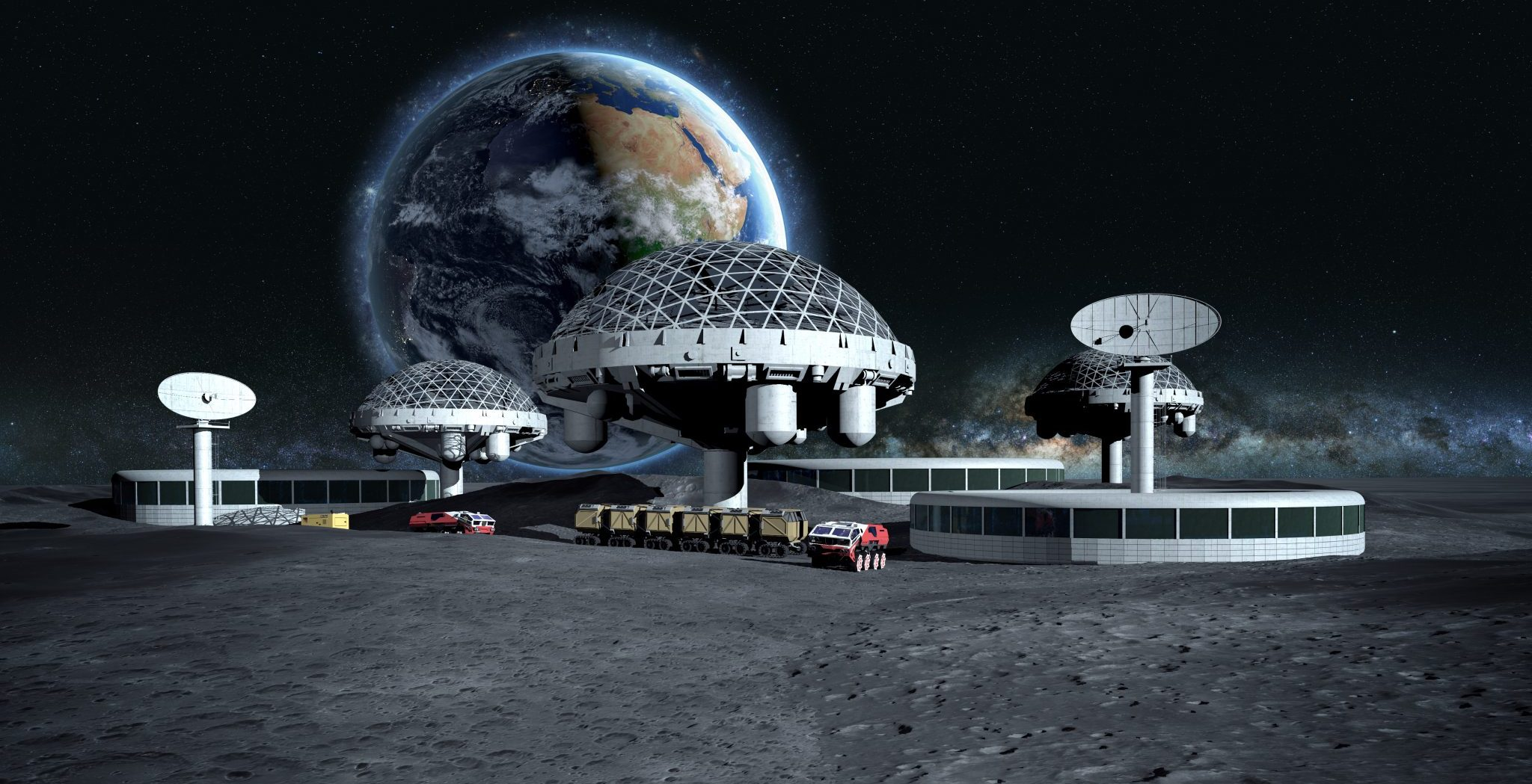 The Political Realities behind Establishing a Moon Base