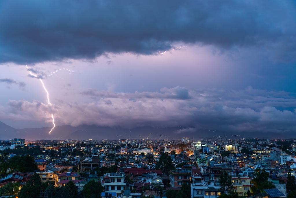 Nepal Thunderstorm Kills at Least 35, Injures Hundreds