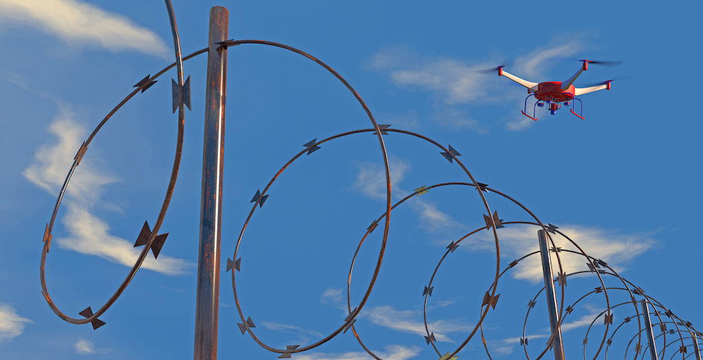 Human Smugglers Using Drones to Guide Migrants into the US