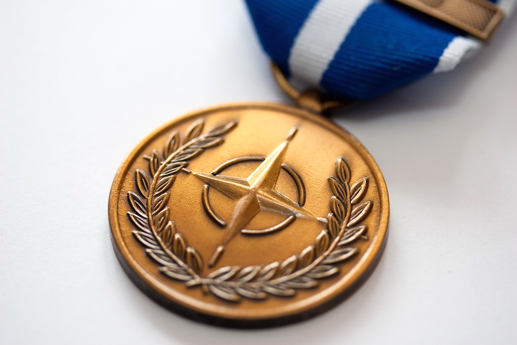 From a Cappuccino Bar to a Medal: The Untold Story of the Creation of the NATO Medal