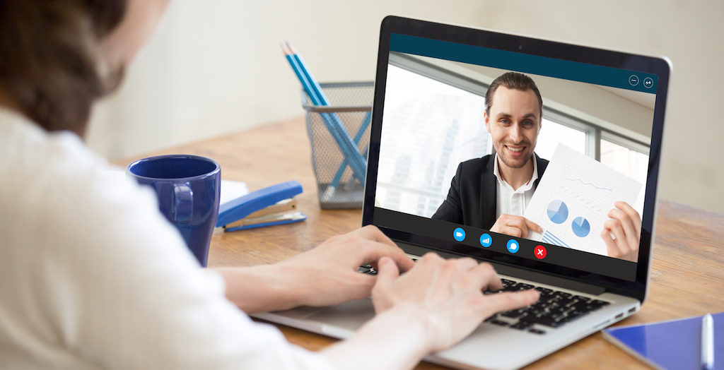 Holding a Virtual Meeting: A Visual Guide for Companies