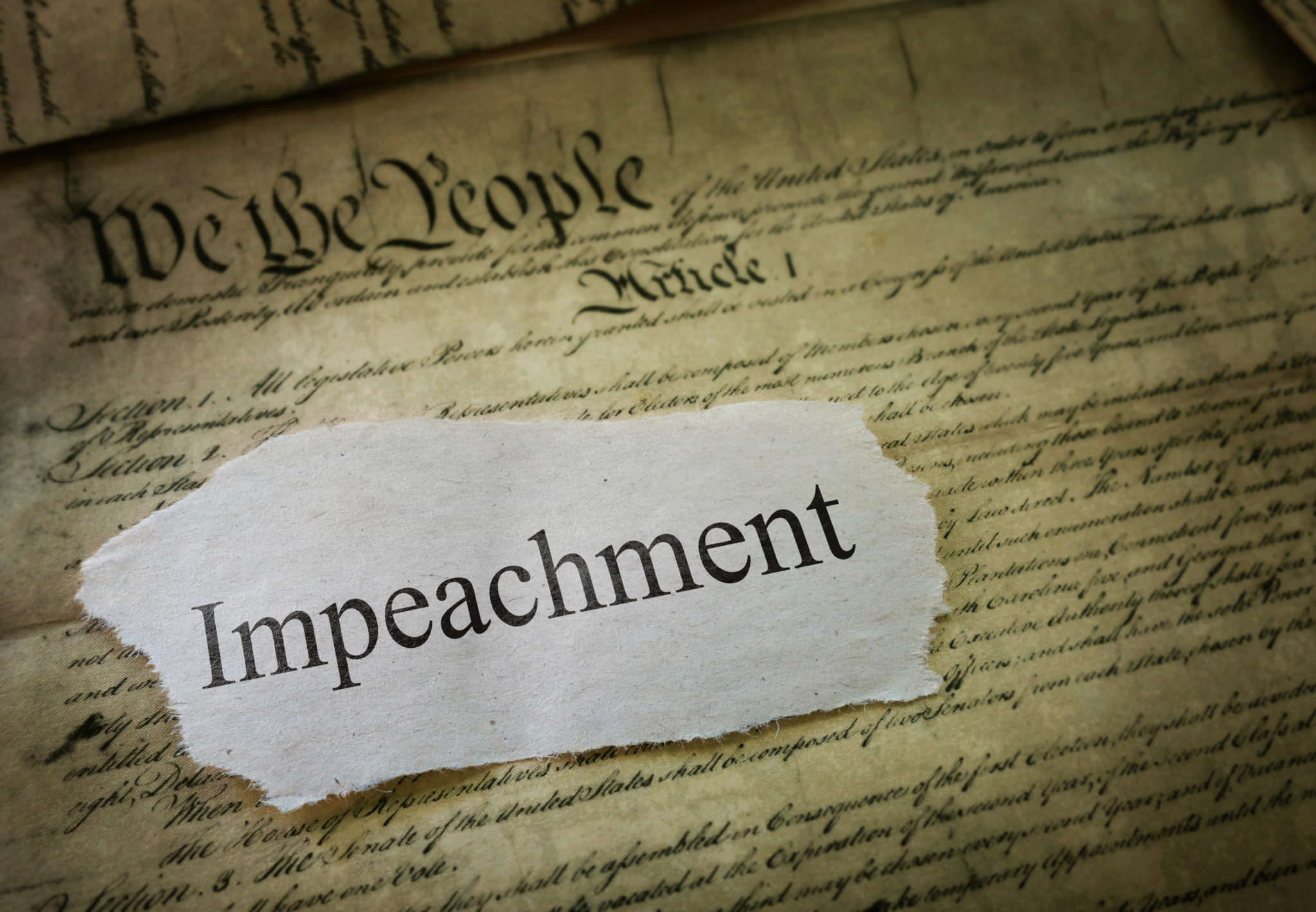 Can Democrats Break The Republican Hammerlock On Impeachment?