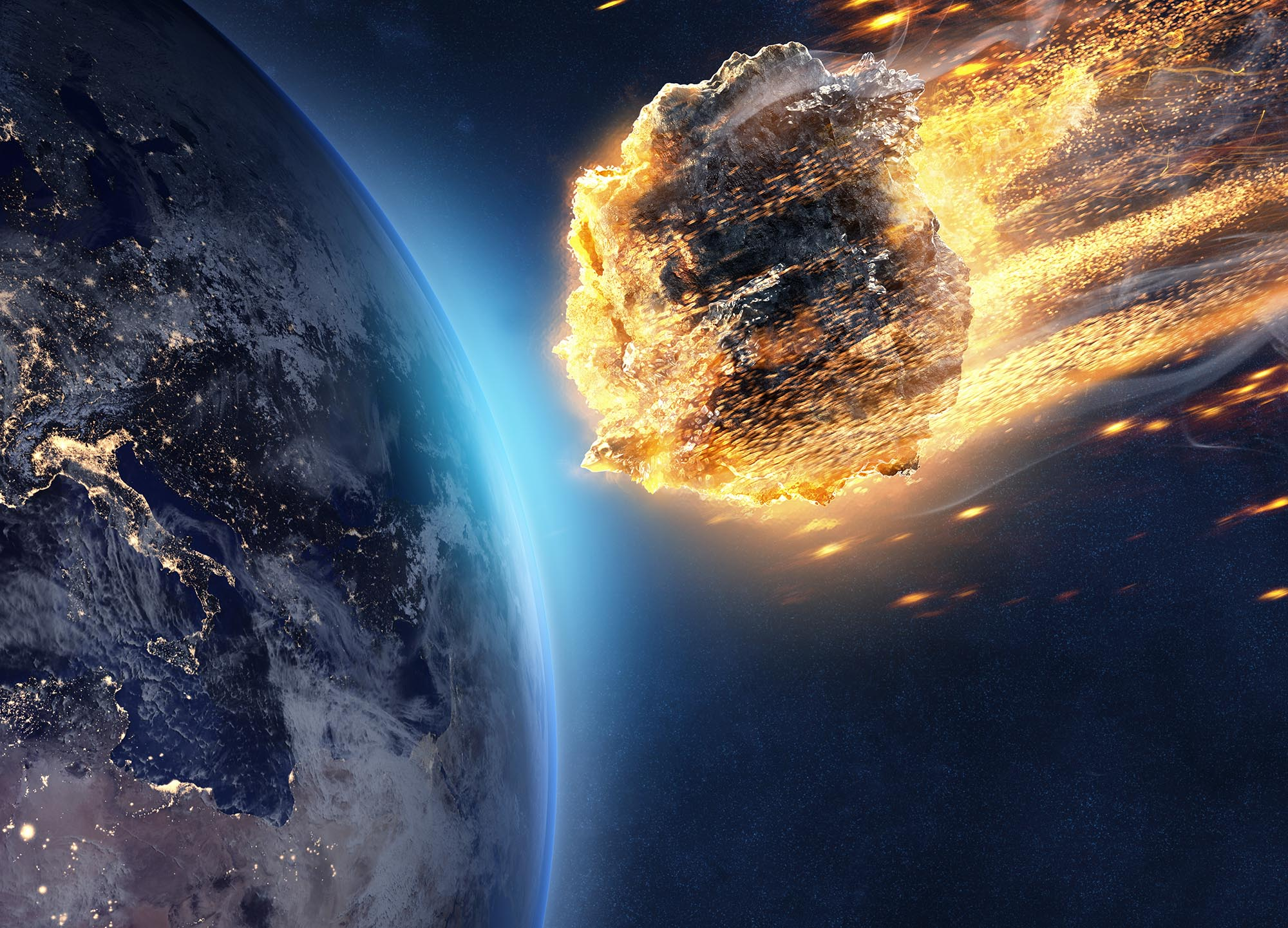 Avoiding a Potential Asteroid Impact Requires Planning