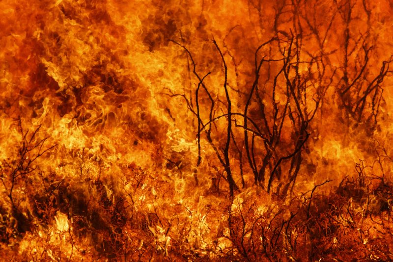 Firefighters Battle Wildfire near Madrid for 4th Consecutive Day
