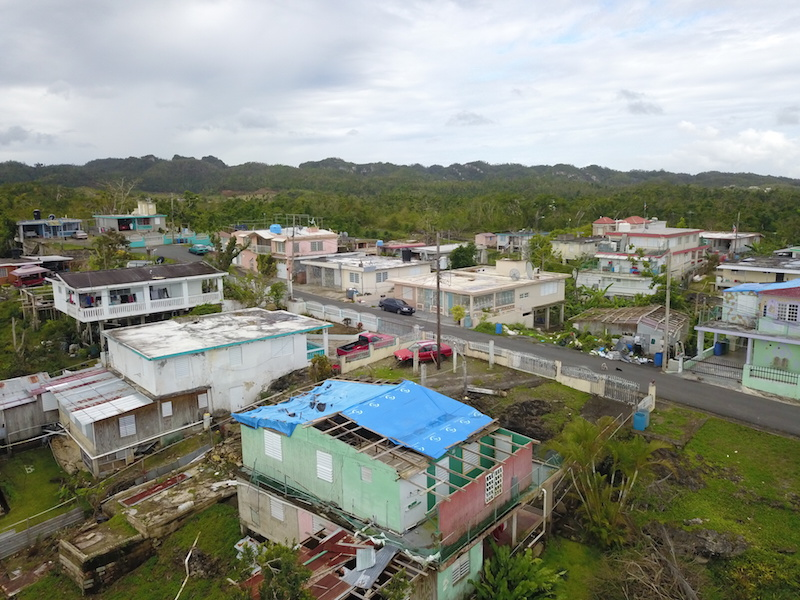 Solving Communication Problems in Puerto Rico after Storms