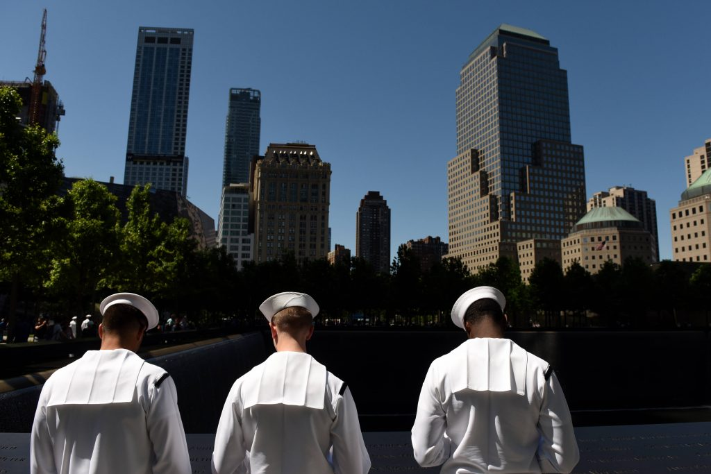 9/11 tribute sailors