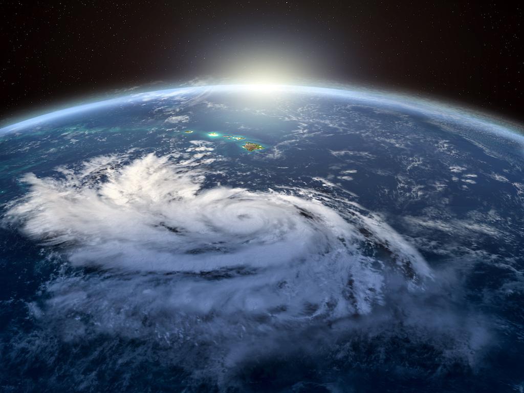 Monster Hurricane Barbara Churns toward Hawaiian Islands