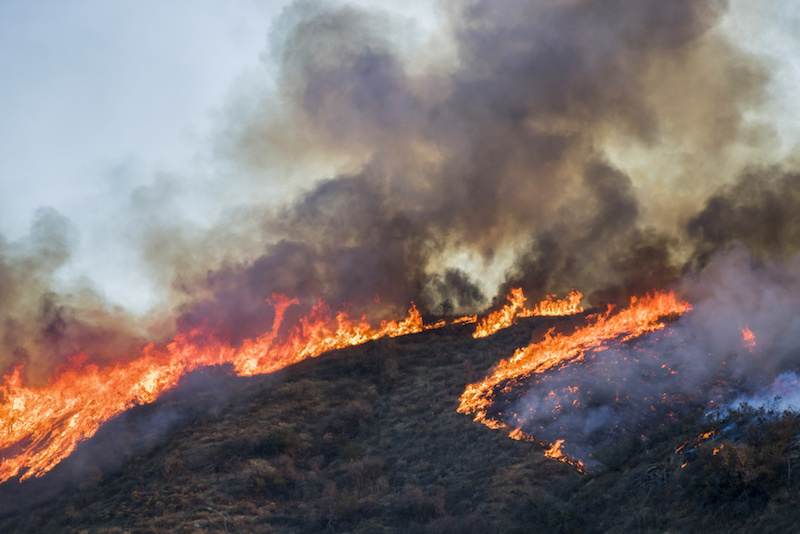 California's Saddleridge Fire Claims Its First Fatality