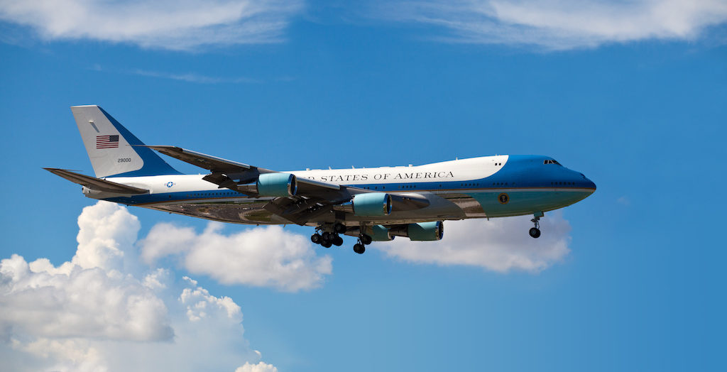 Military Investigating Reports of Drone Flying Near Air Force One