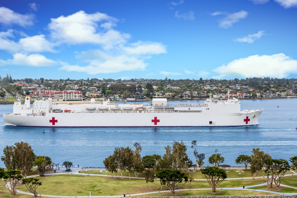 Hospital ship Mercy returning to San Diego Friday after assisting Los Angeles' COVID-19 response