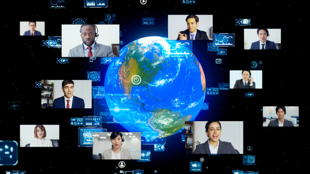 How to Address a Large Conference Using Remote Technology