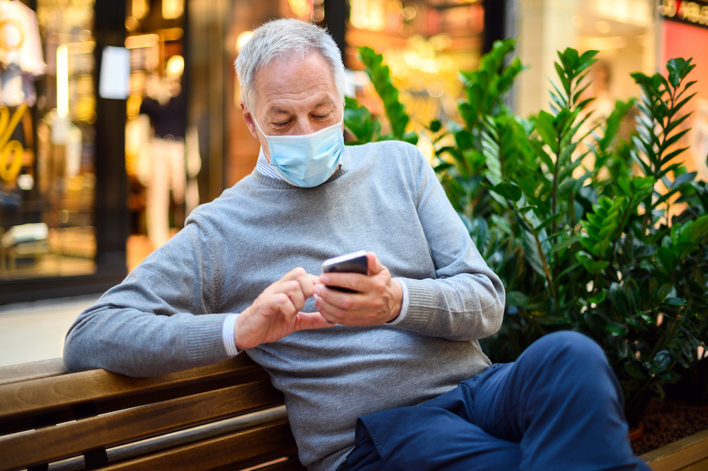 The Elderly Need Smartphones and Apps to Fight COVID-19
