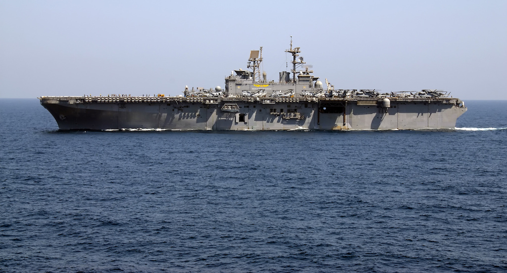US Accuses Iran Of 'Dangerous' Harassment Of US Warships