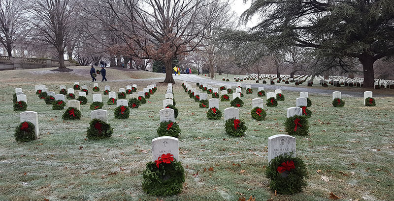 Never Forgotten: Honoring Our Military During Wreaths Across America