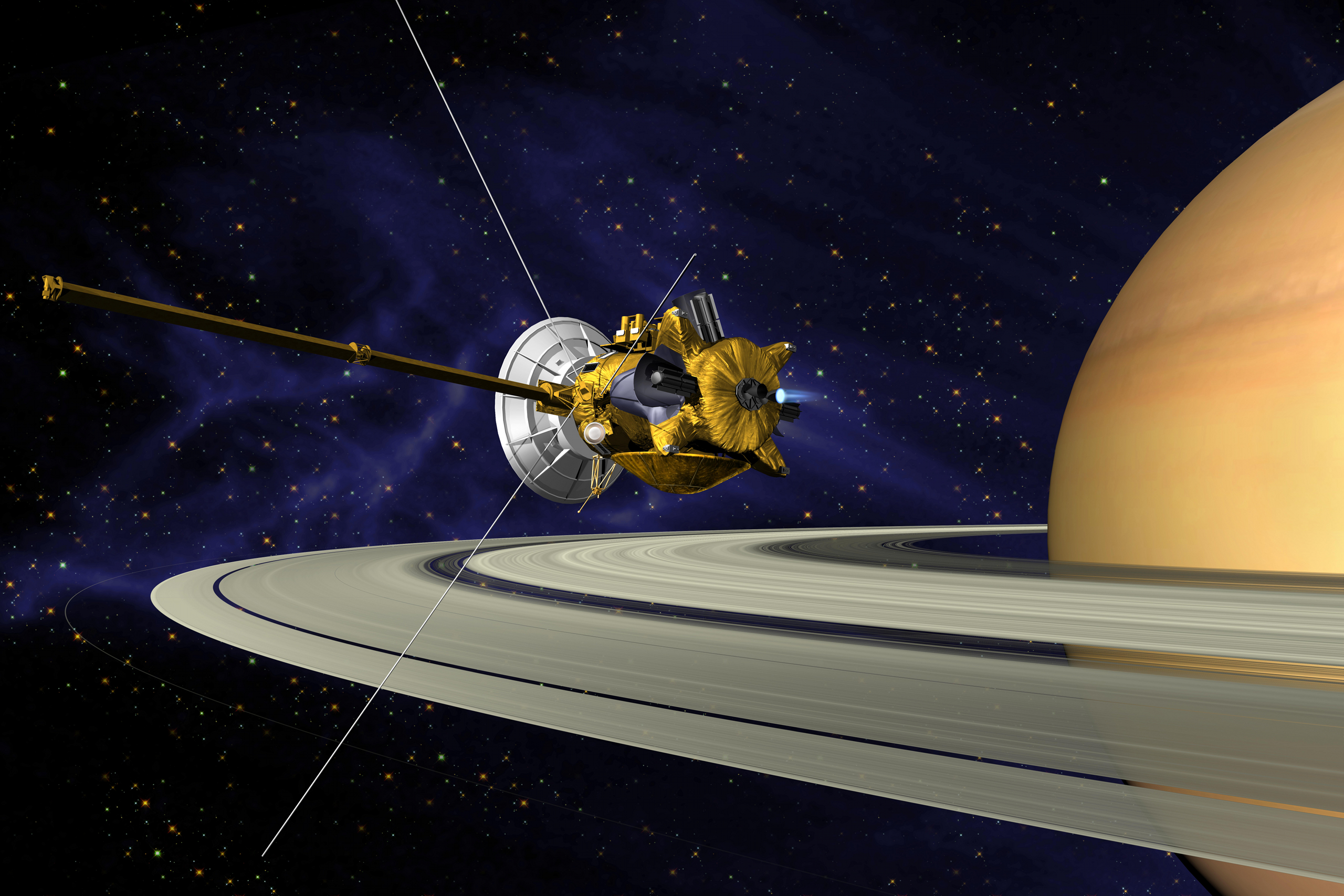 This Week in Space History – March 31, 2005 Cassini, Titan Flyby