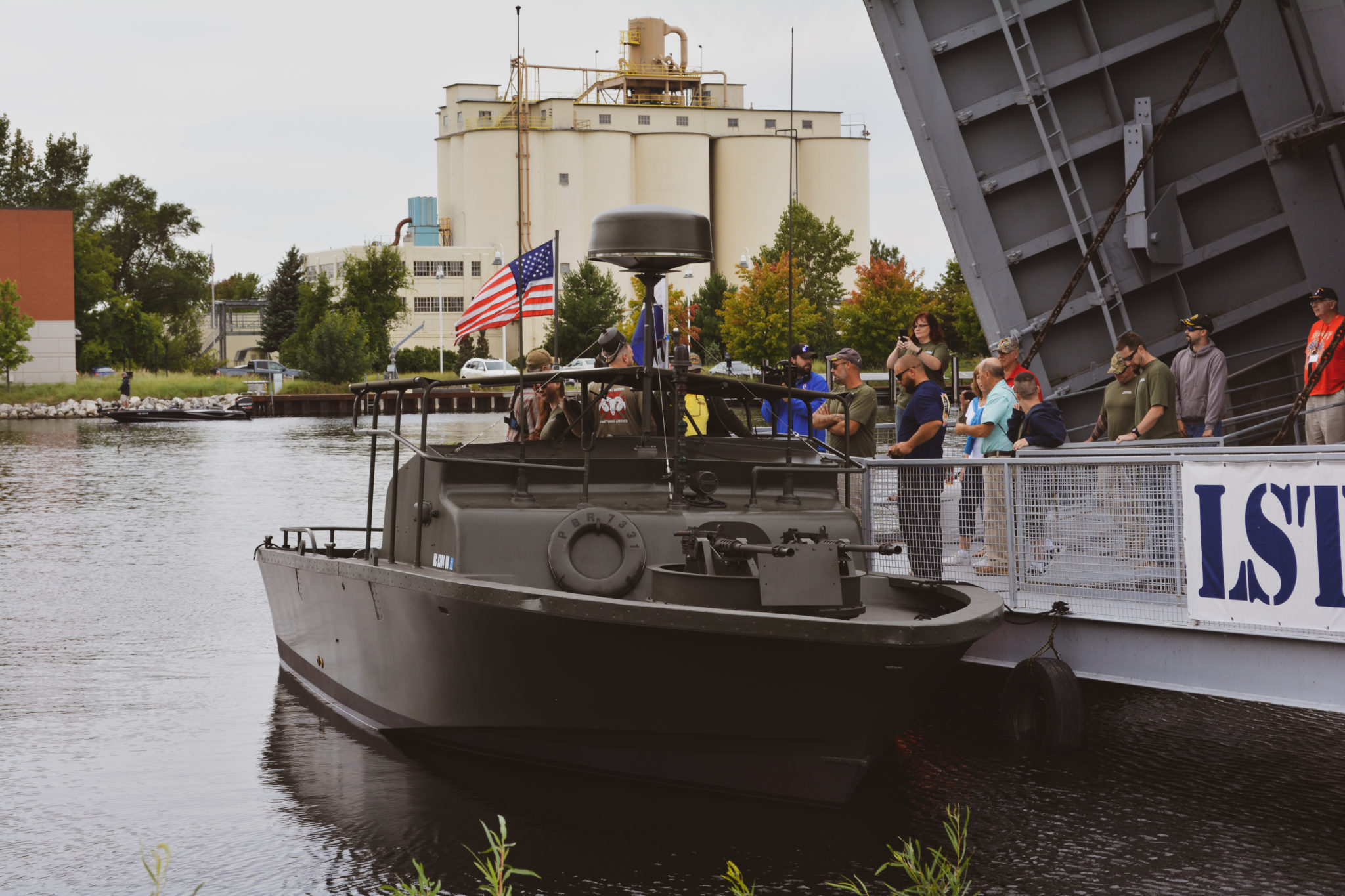 Vietnam-Era River Patrol Boat Roars Back to Life on Lake Michigan