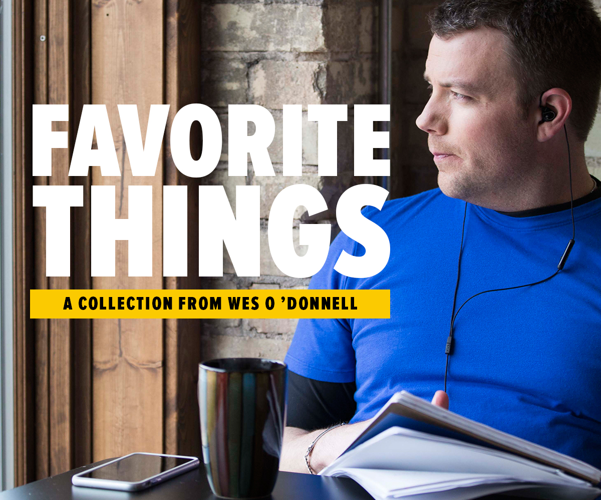 Wes' Favorite Things: Top Five Must-Read Books in 2016