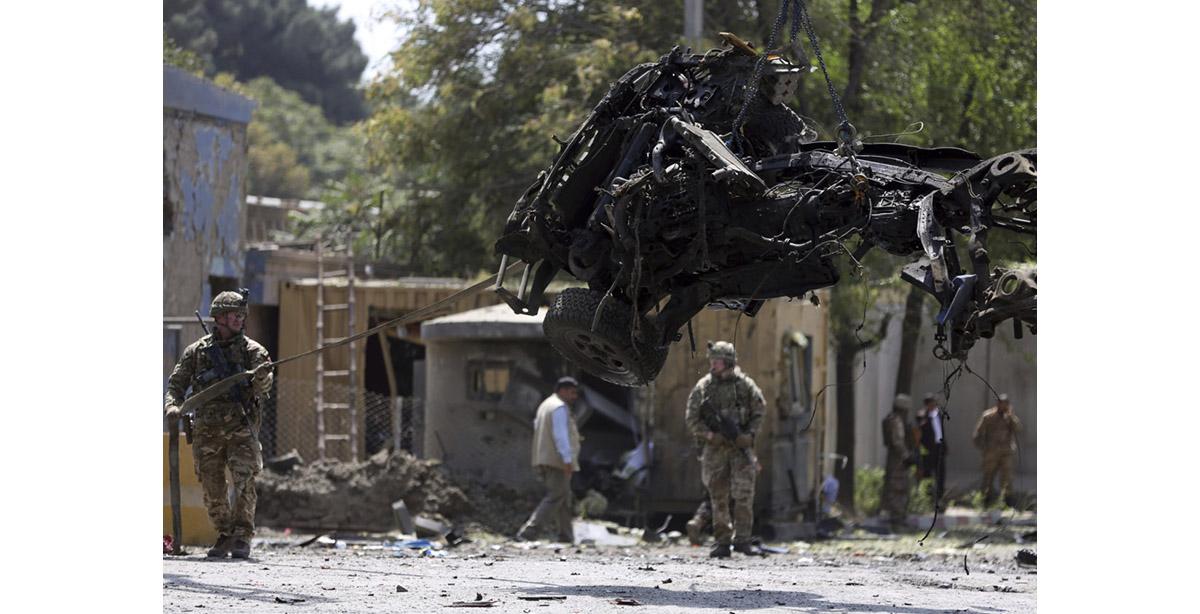Taliban attacks test Trump as he seeks to end Afghan war