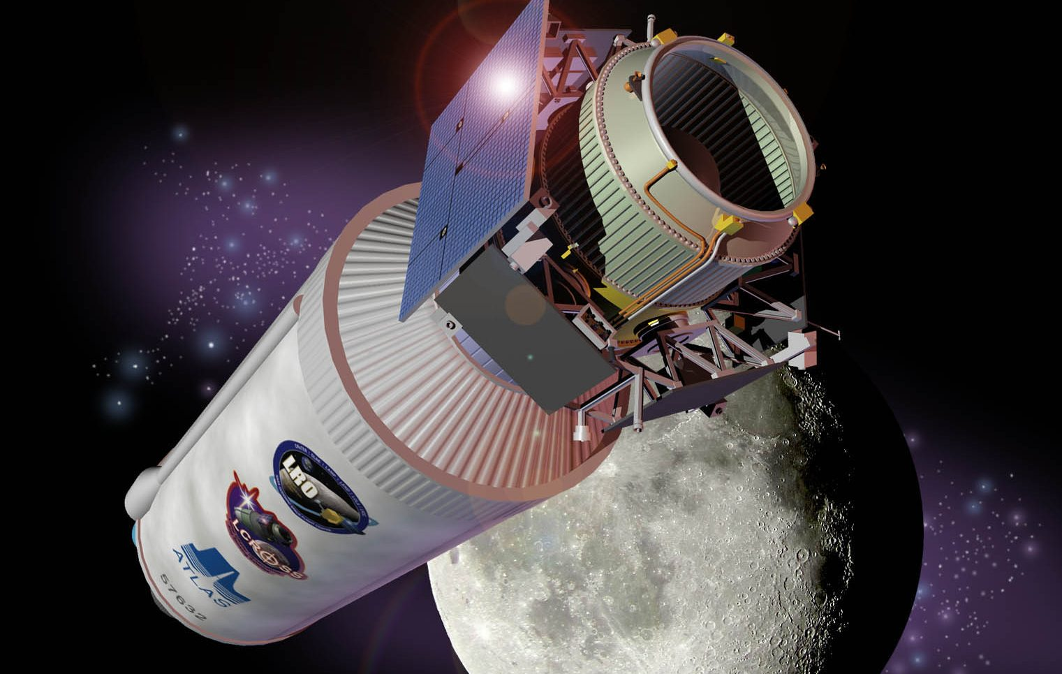 This Week in Space History 2009 – LCROSS Launched to the Moon