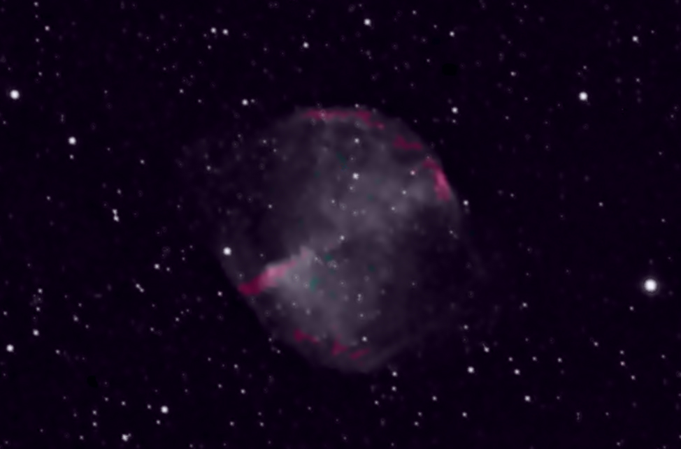 The Apple Core Nebula and the Death of Stars