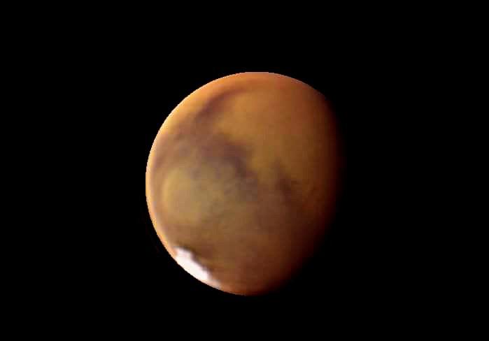 Mars Is a Bright Object in Tonight's Sky