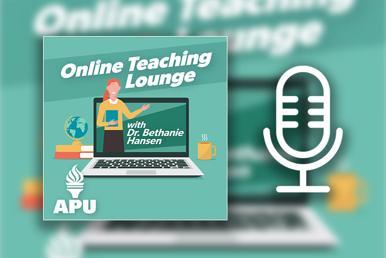 Podcast: Self-Care and Balance for Online Educators