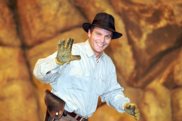 Ray Eddy Indiana Jones stuntman