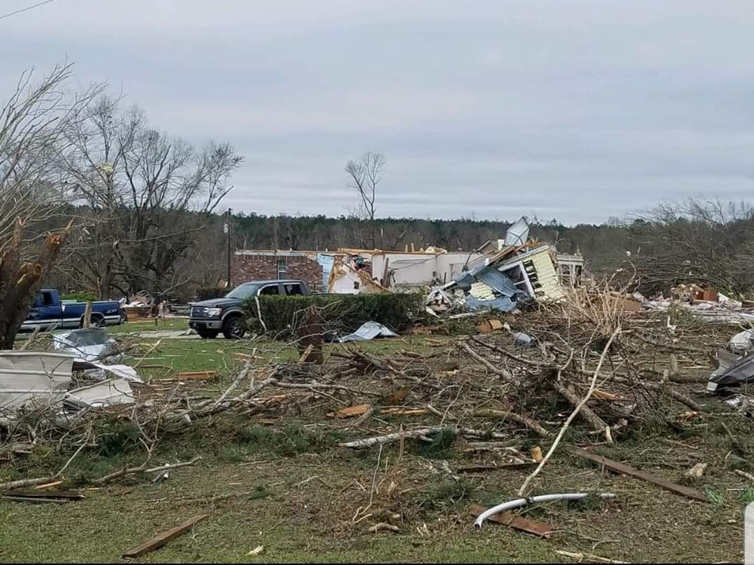 Death Toll Stands at 23 from Southeastern US Tornadoes