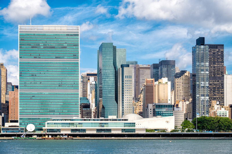 UN headquarters Nikki Haley Hubler