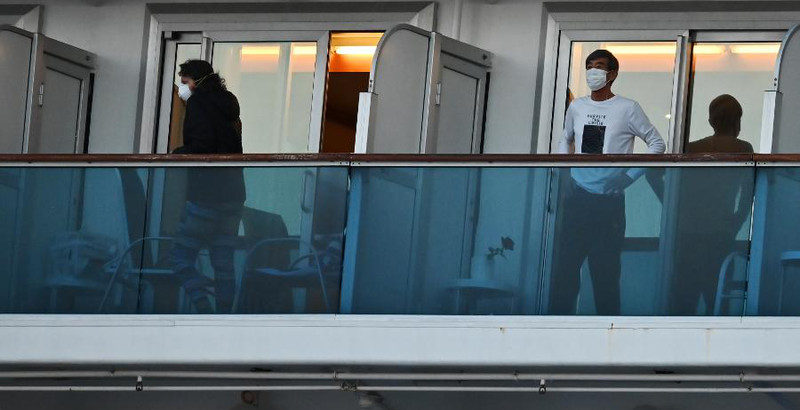 How A Quarantined Cruise Ship Became The Largest Cluster Of Coronavirus Outside Of China