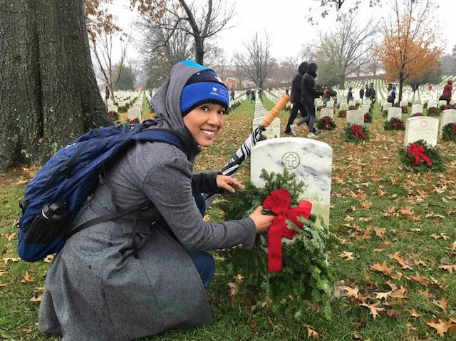 Paying Tribute to the Military at Wreaths Across America