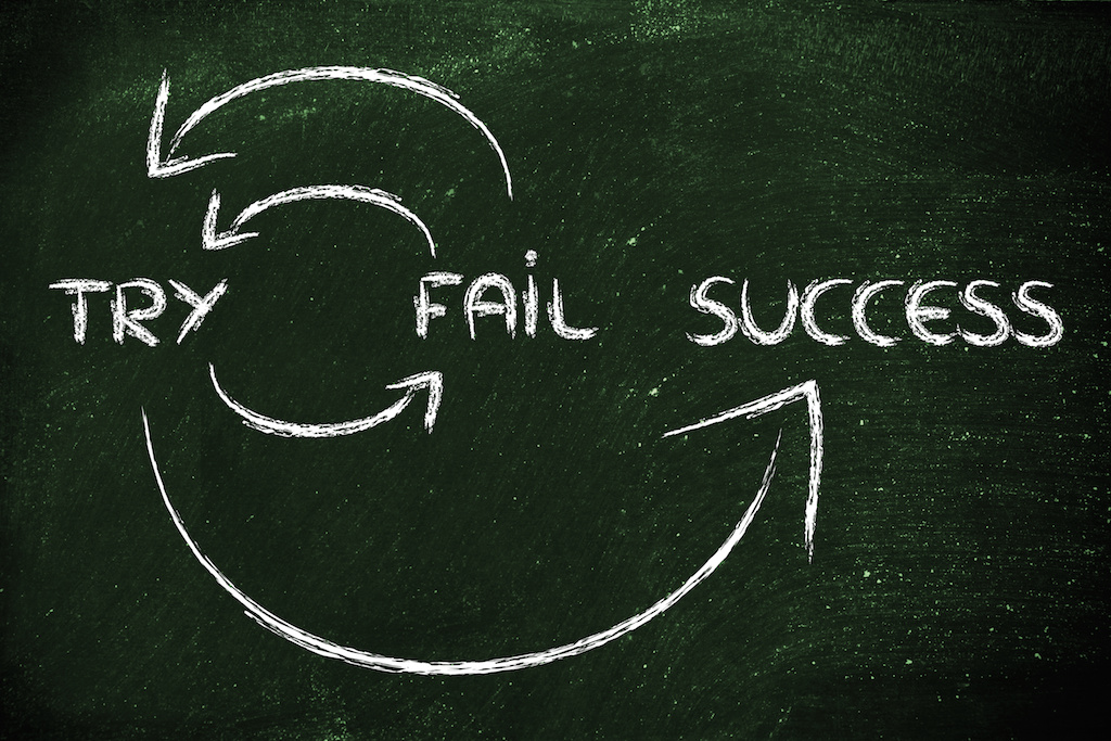 Want a Secret to Professional Success? Start Failing More