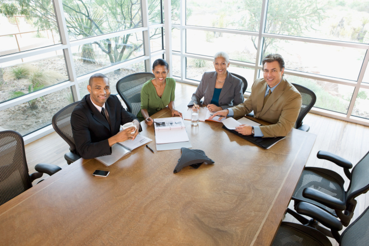 seat at the boardroom table
