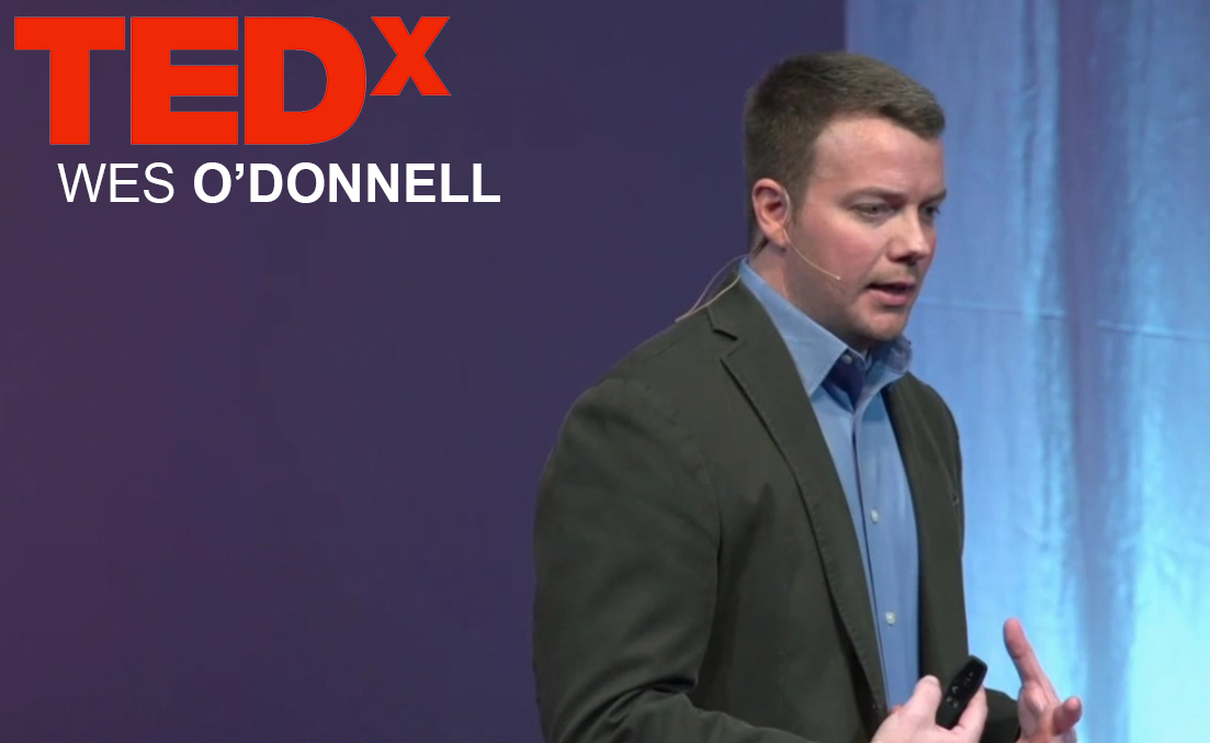 "InMilitary Managing Editor Wes O'Donnell at TEDx ""Information is Beautiful"""