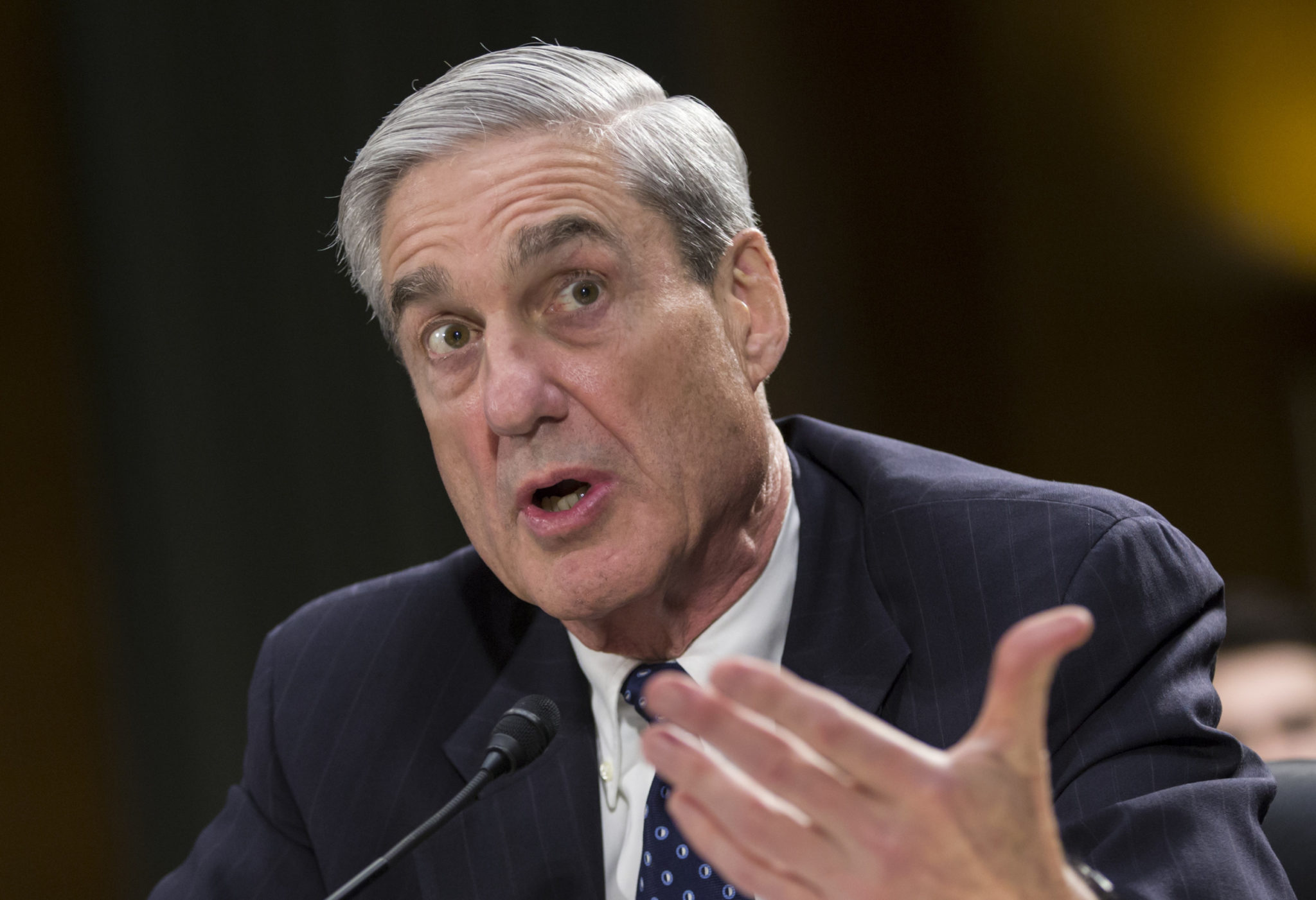Mueller's Obstruction Punt Left Question In Barr's Hands